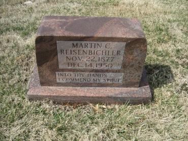 Martin Reisenbichler gravestone Immanuel New Wells MO