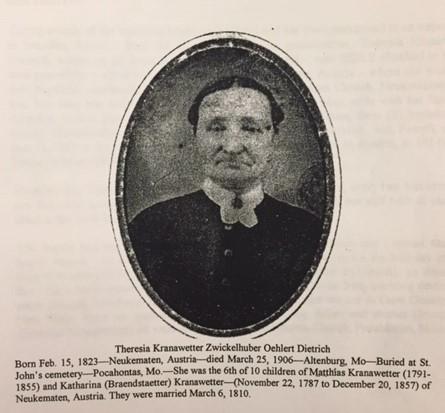 Theresia Kranawetter Zwickelhuber Oehlert Dietrich