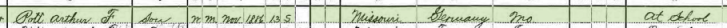 William Pott 1900 census 2 St. Louis MO