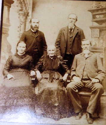 William Pott with siblings 1875