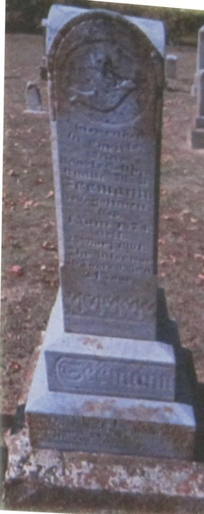 Emilie Seemann gravestone Immanuel Altenburg MO