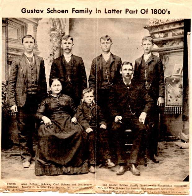Gustav Schoen family