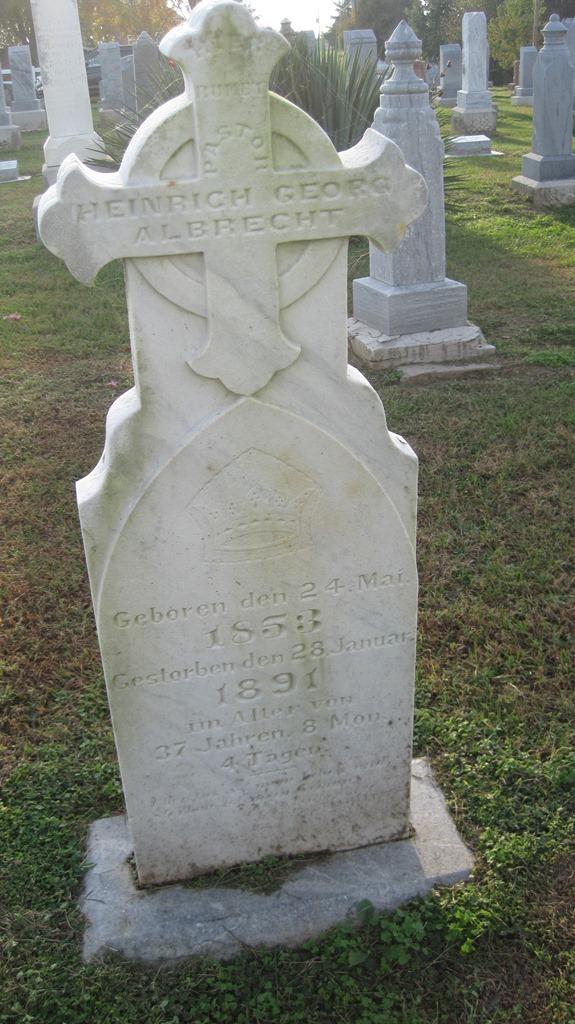 Heinrich Albrecht Gravestone
