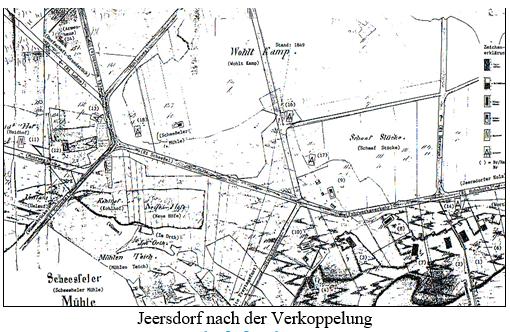Jeersdorf map