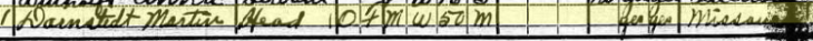 Martin Darnstaedt 1920 census 1 Fountain Bluff IL