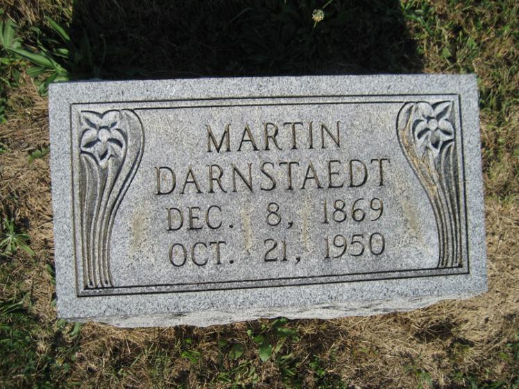 Martin Darnstaedt gravestone Trinity Altenburg MO