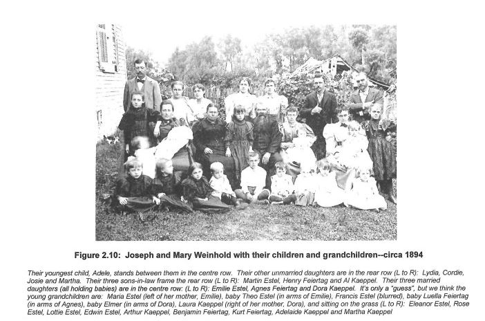 Mary and Joseph Weinhold family c. 1894