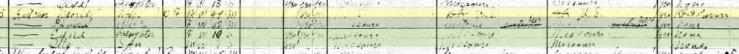 Moritz Kutscher 1920 census Shawnee Township MO