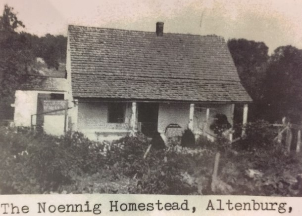 Noennig homestead rural Altenburg