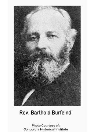 Rev. Barthold Burfeind