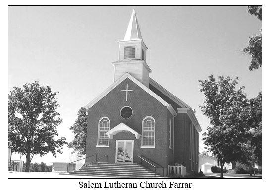 Salem Lutheran Church Farrar MO