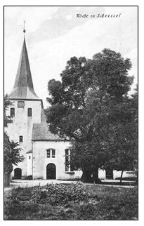 Scheessel church