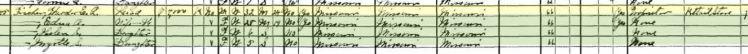 Theodore E L Fischer 1930 census Brazeau Township MO