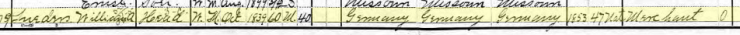 William Lueders 1900 census 1 Wittenberg MO