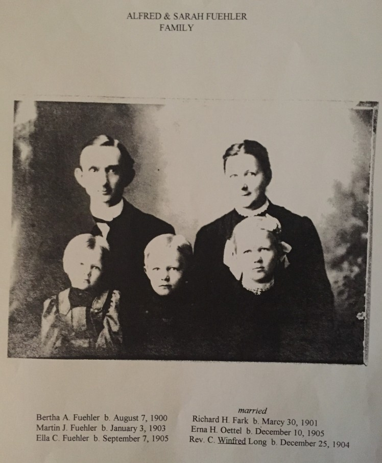 Alfred Fuehler family