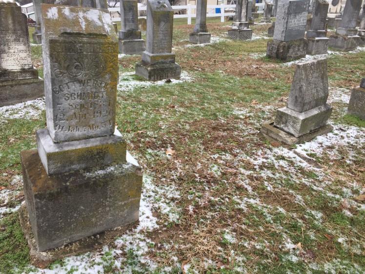 Alvin Richter grave site Trinity Altenburg MO