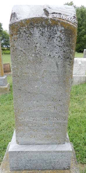 Elisabeth Schade gravestone Immanuel Altenburg MO