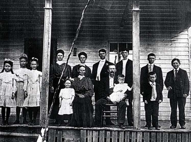Frederick Fritz Gemeinhardt family