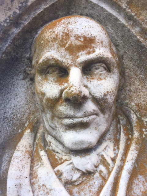 Friedrich Florian Petzoldt gravestone The Face 1