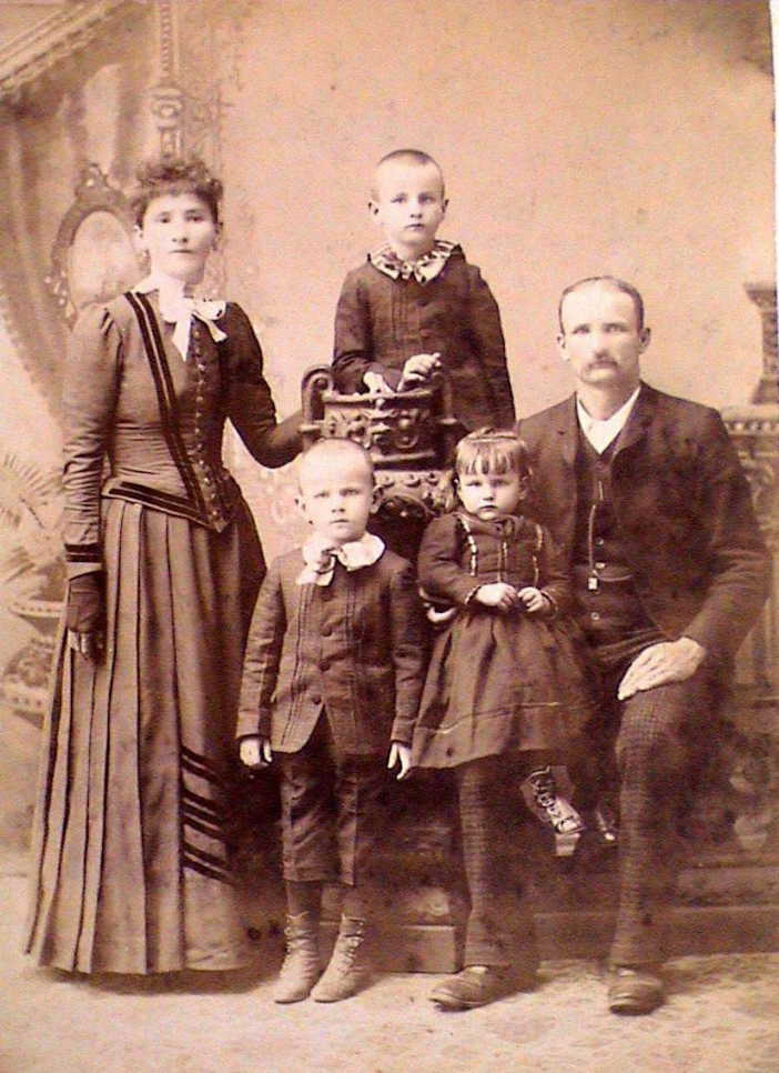 Henry and Susan Brinkmann family