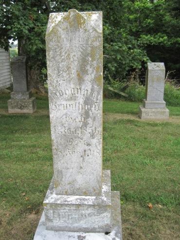 Johann Christian Brunkhorst gravestone Concordia Frohna MO