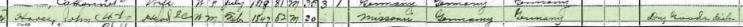 John Hooss 1900 census 1 Perryville MO