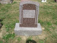 Marie Wachter gravestone Trinity Altenburg MO