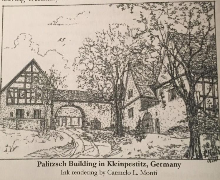 Palitzsch building in Kleinpestitz Germany