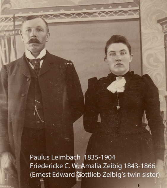 Paulus and Fredericke Zeibig Leimbach