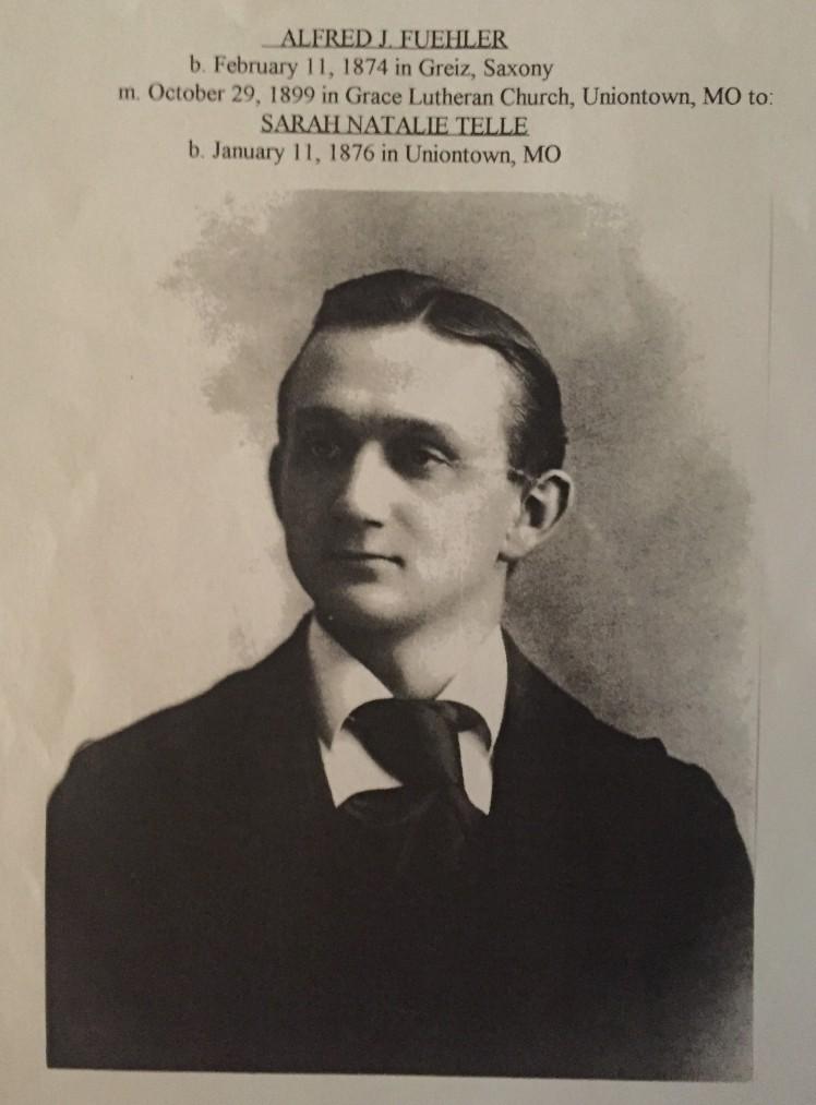 Rev. Alfred Fuehler