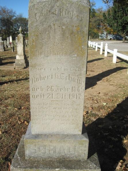 Robert Schade gravestone Immanuel Altenburg MO