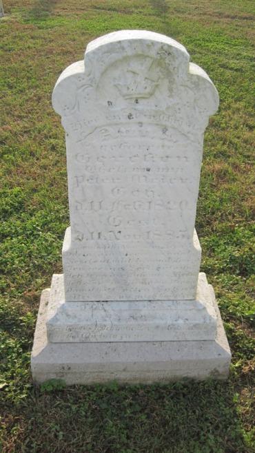 Anna Meier gravestone Salem Farrar MO