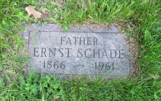 Ernst Schade gravestone Concordia St. Louis MO