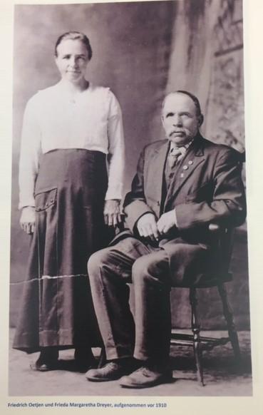 Friedrich and Frieda Dreyer Oetjen