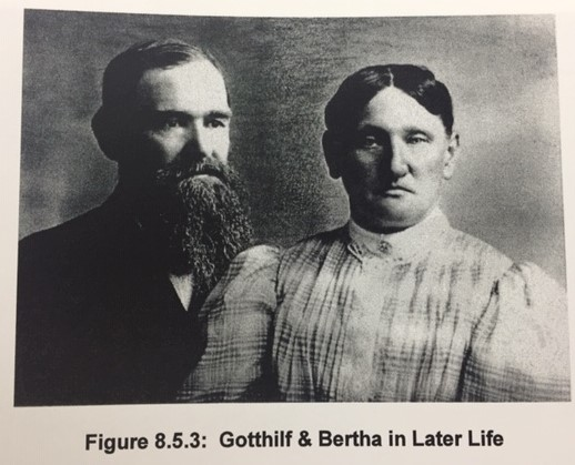 Gotthilf and Bertha Weinhold later in life