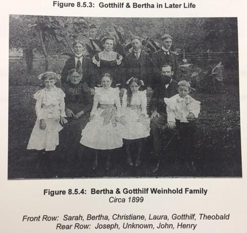 Gotthilf Weinhold family 1899