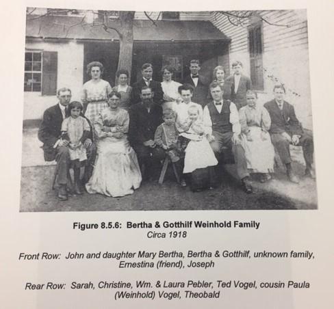 Gotthilf Weinhold family 1918