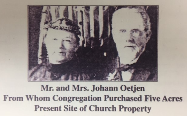 Johann and Mary Luedemann Oetjen