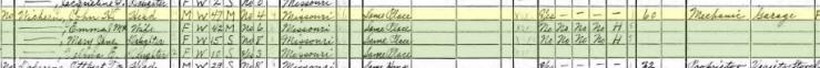 John Wichern 1940 census Altenburg MO