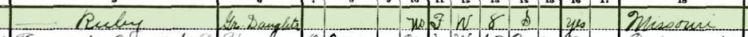 Leonard Bergmann 1930 census 2 Central Township MO