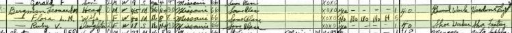 Leonard Bergmann 1940 census Perryville MO
