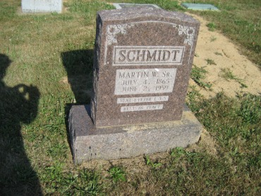Martin Schmidt gravestone Trinity Altenburg MO