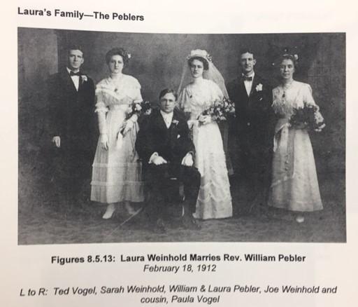 Pebler Weinhold wedding party