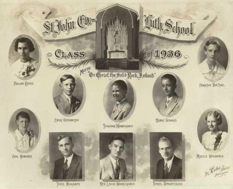 Theobald Wukasch St. John's Class of 1936