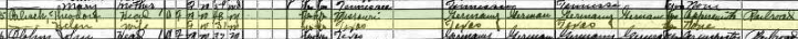 Theodore Palisch 1920 census Childress TX
