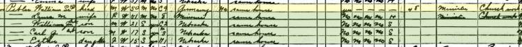 William Pebler 1930 census Olive Branch NE