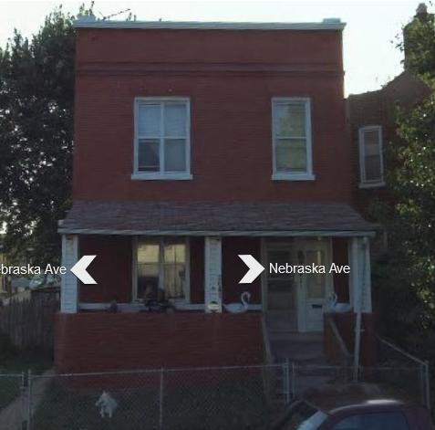3641 Nebraska Ave. St. Louis MO Wiehe residence