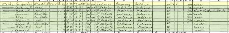 Augusta Wiehe 1930 census St. Louis MO