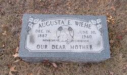 Augusta Wiehe gravestone Concordia St. Louis MO