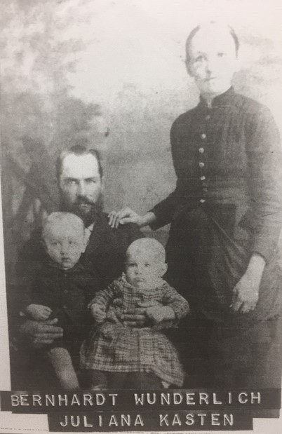 Bernhard and Julia Wunderlich family early